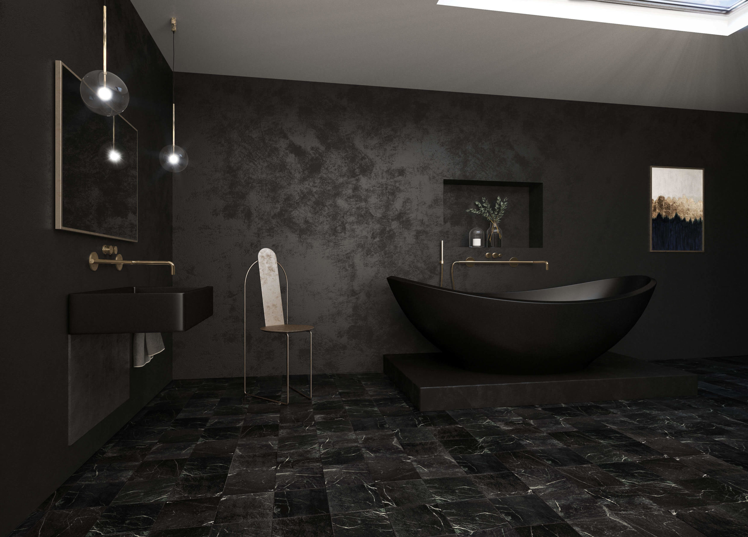 The Black Bathroom Bluedotvisual, Images Of Black Bathrooms